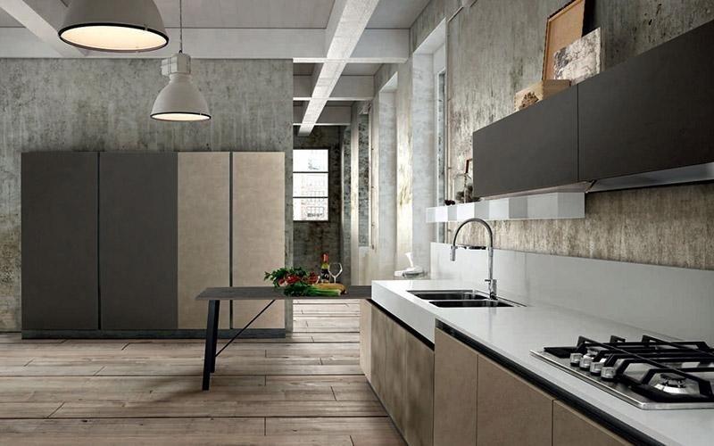 Cucina Spagnol Miami Industrial Style legno