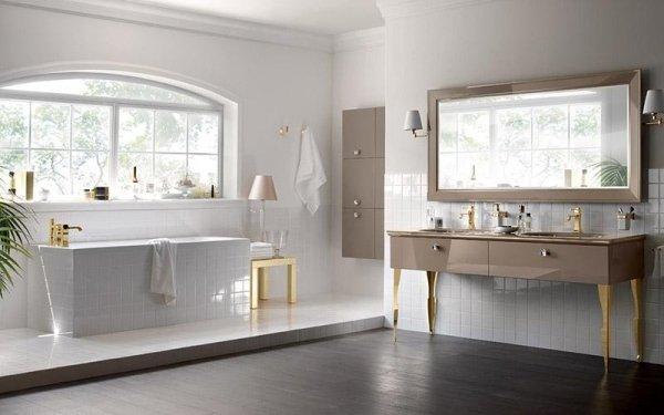 Bagno Scavolini Magnifica lavabo con cassettiera