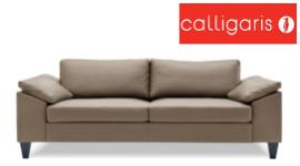 divano tre posti, divano in tessuto ecru, divano con struttura in legno