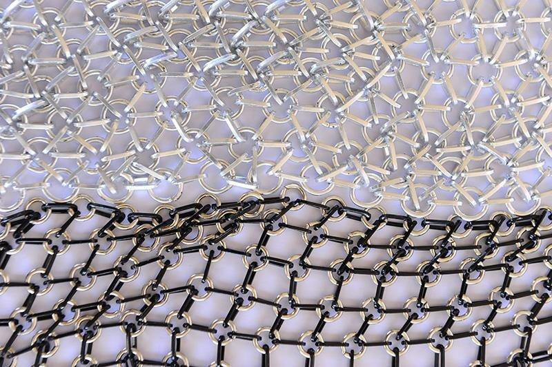 tessuti metallici fatti a mano