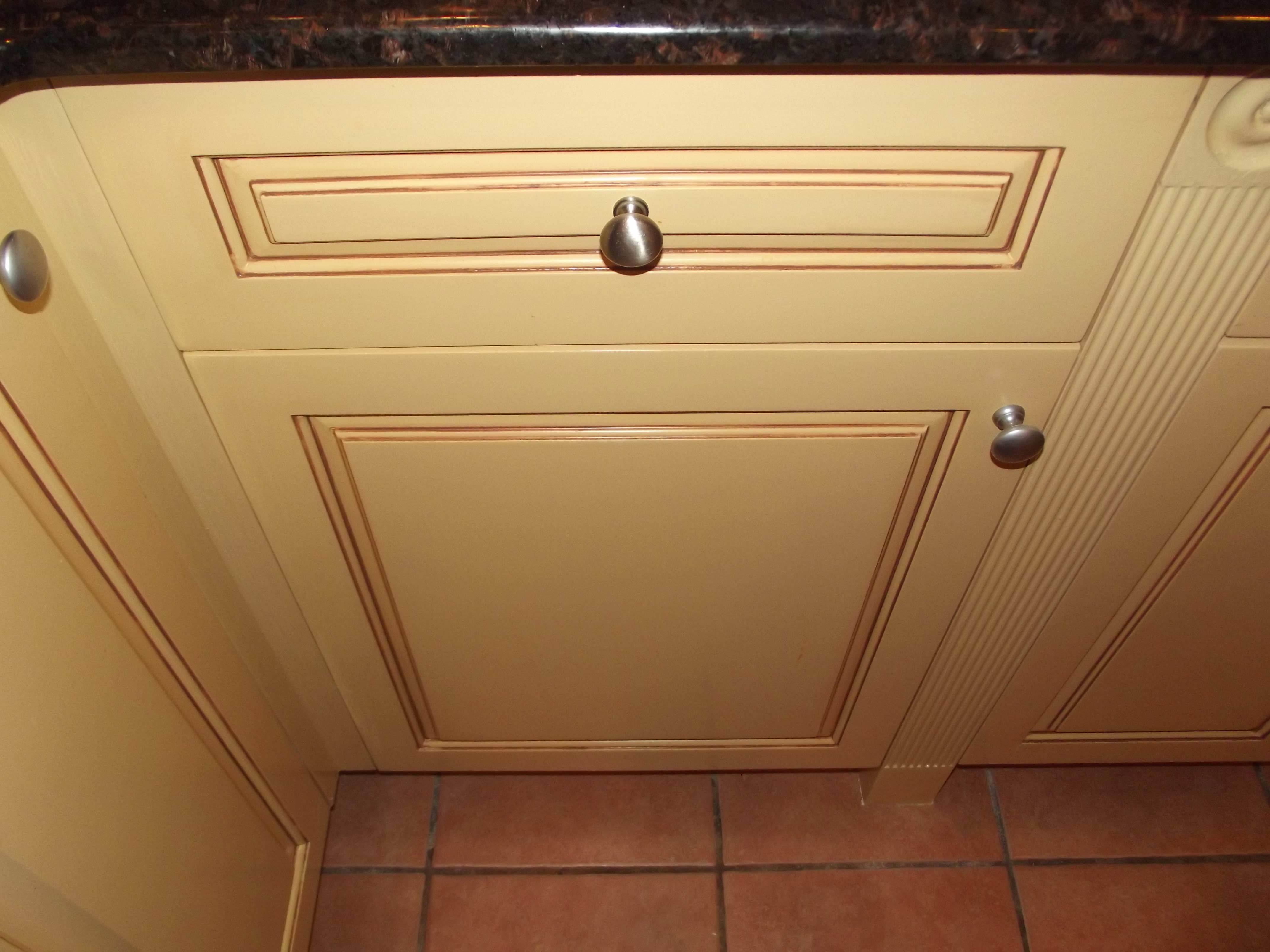 Cabinet restoration and retention
