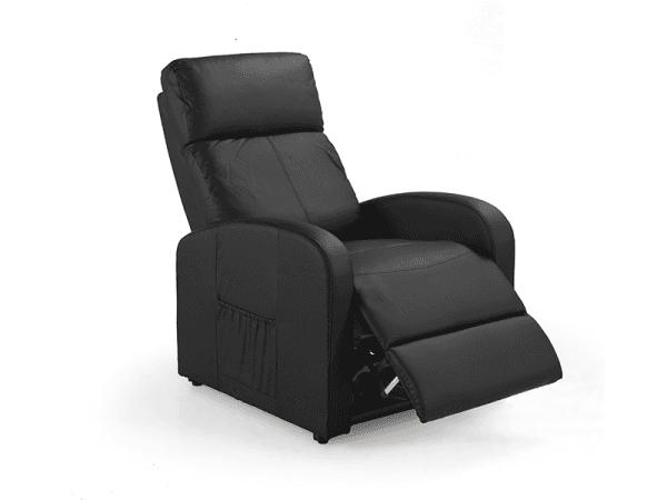 sillón relax negro