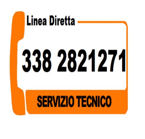 Linea diretta con il servizio tecnico