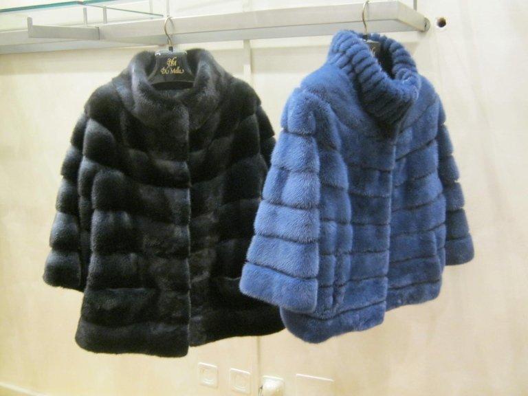 pelliccia colorata