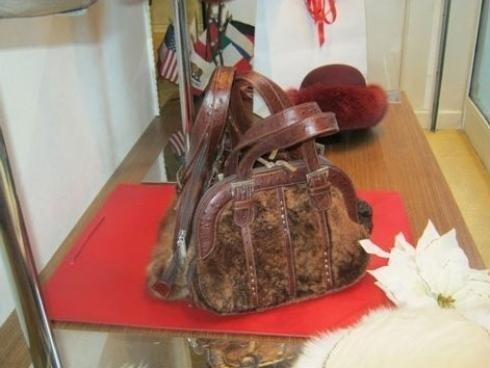 borse di pelliccia