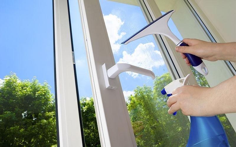 lavaggio finestre