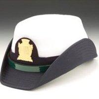 Cappello femminile agente polizia locale Milano