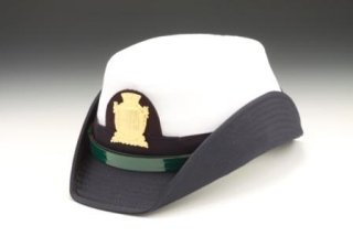 Milan local police officer female hat