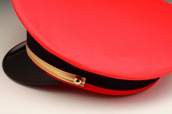berretto rigido rosso