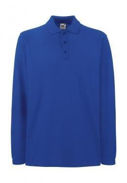 Premium long-sleeved polo shirt