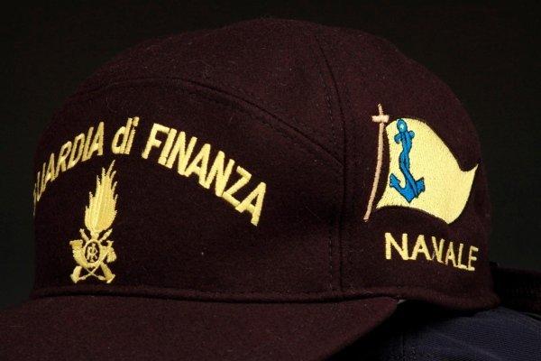berretto guardia di finanza  navale