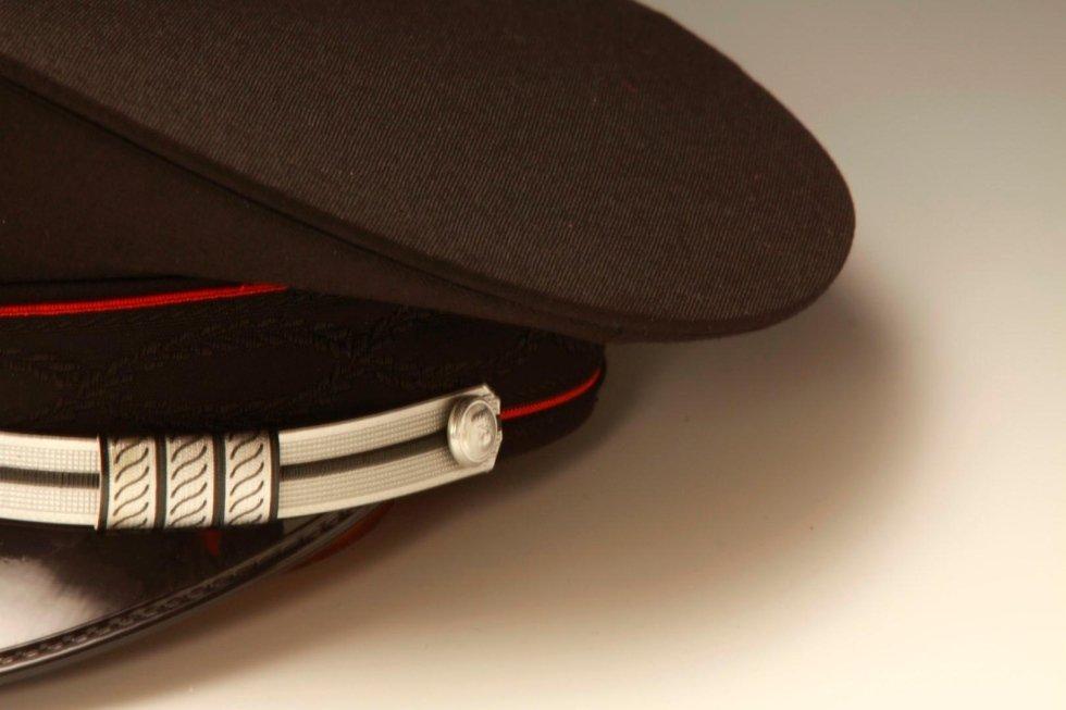 Berretto rigido arma dei carabinieri