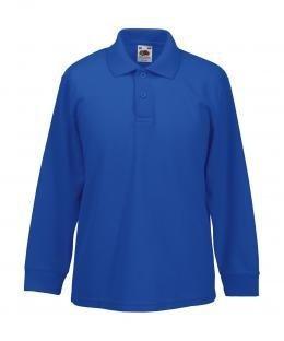 Long-sleeved polo shirt 65:35