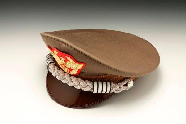 Esercito berretto rigido ufficiale generale