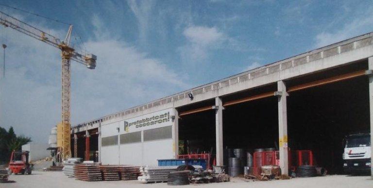azienda, prefabbricati, strutture per edilizia