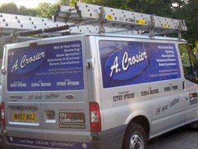 Plastering - Bridlington, North Yorkshire - A Crosier - Van