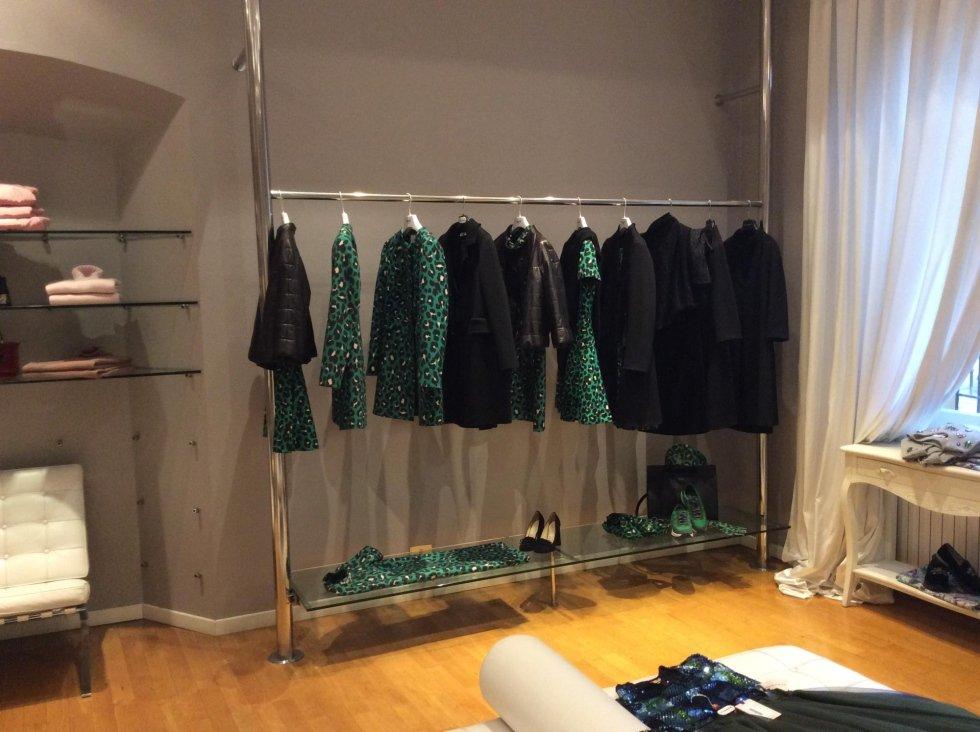 abiti da sera verdi e neri per donna