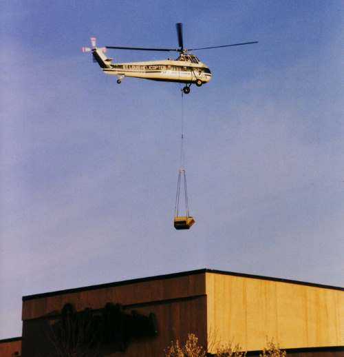 Helicapter lifting