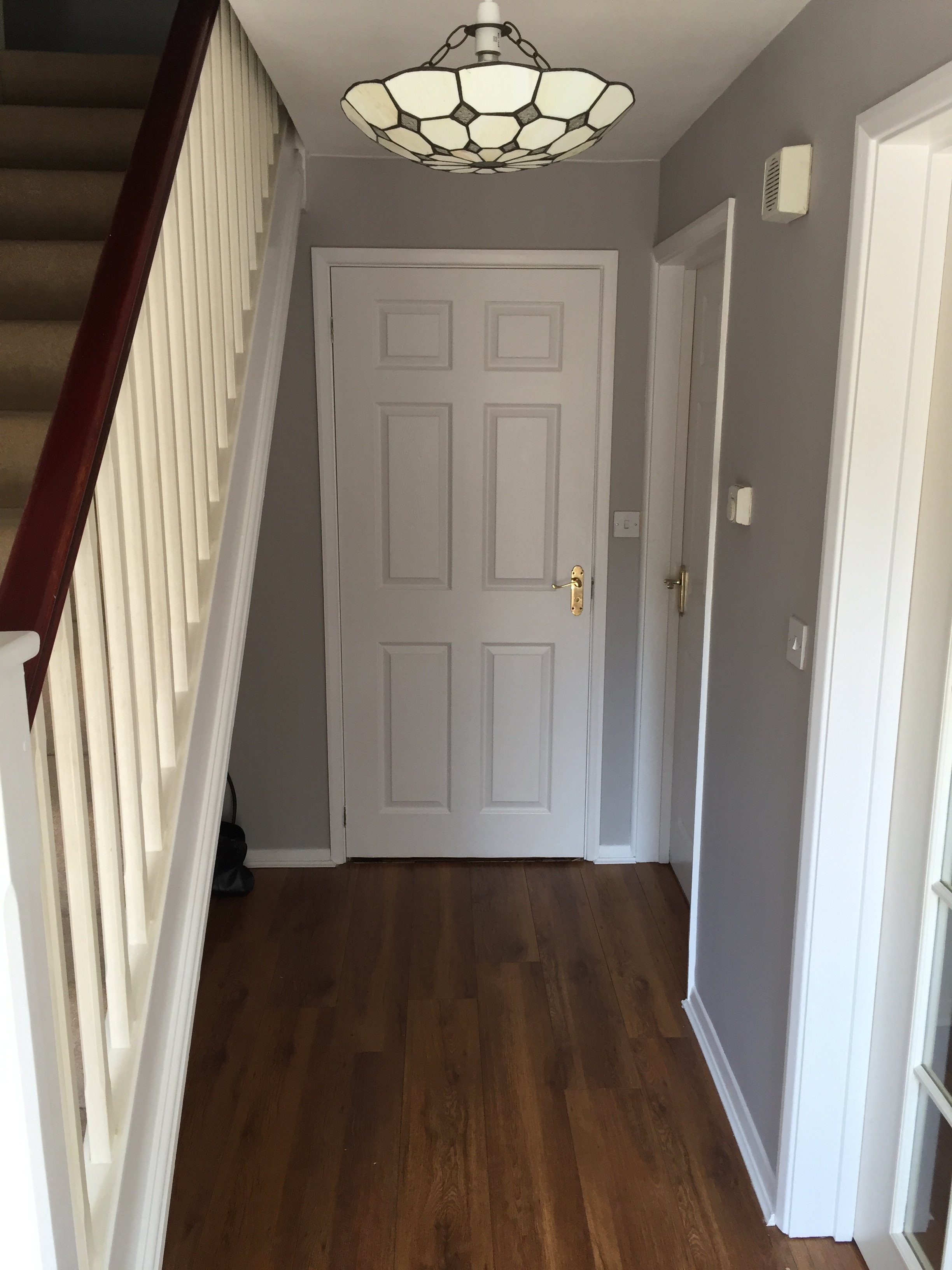 Painters & Decorators Peterborough Grey Hallway