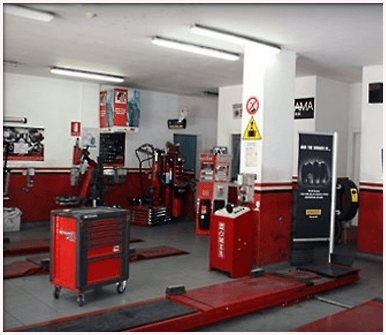 officia meccanica, riparazione pneumatici, sostituzione gomme