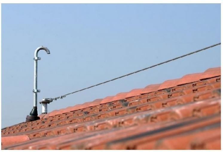 linee vita su tetto