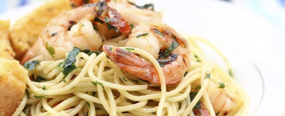 spaghetti ai gamberetti