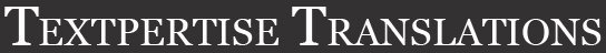 Textpertise & Textpertise Translations logo