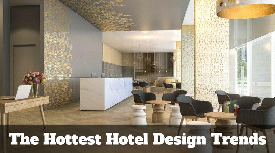 hottest hotel design trends