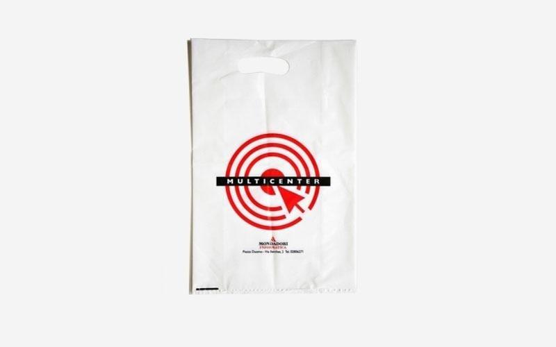 Sacchetti in plastica per mondadori