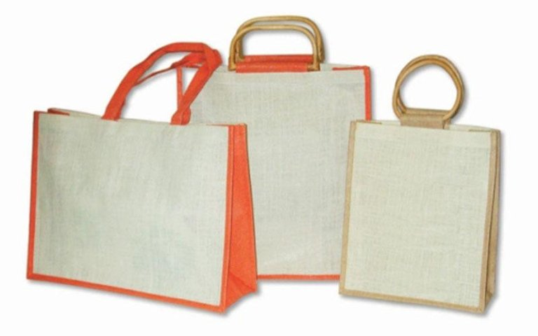 Promotional bags in plastica
