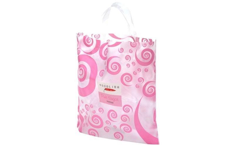 Sacchetti in plastica rosa fantasia
