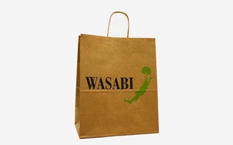 Sacchetti in carta wasabi