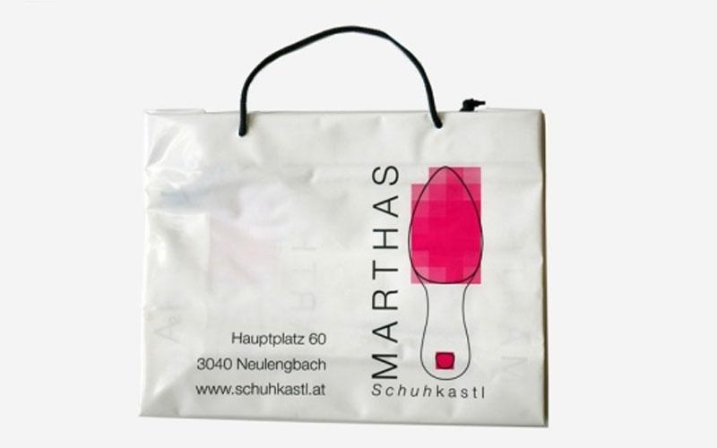 Sacchetti in plastica per negozi