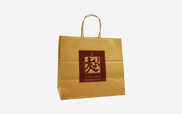 Sacchetti in carta ristorante giapponese
