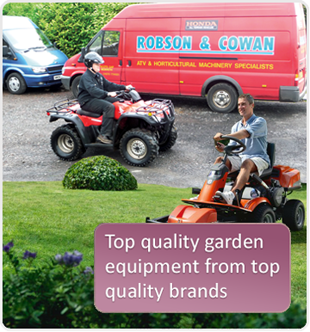 Top quality garden equipment from top quality brands