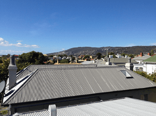 Roof restoration repairs house roof heritage and slate roofing hobart australia