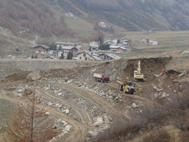 Interventi passivi a Prata Camportaccio