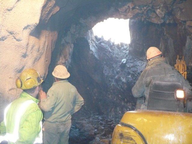 Lavori in sotterraneo a Prata Camportaccio