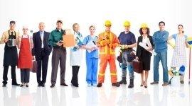 operai, azienda, officina