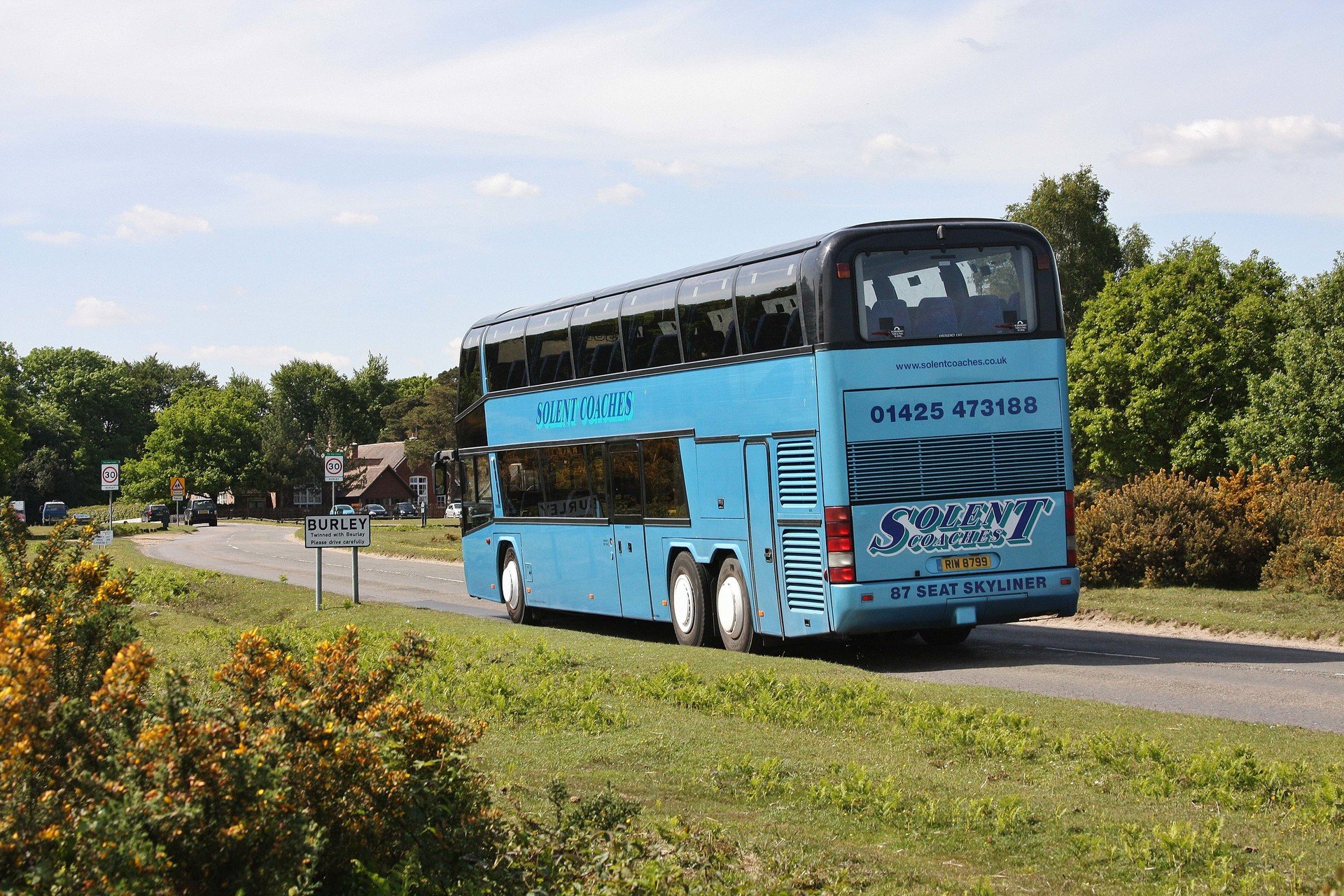 A Solent double decker bus