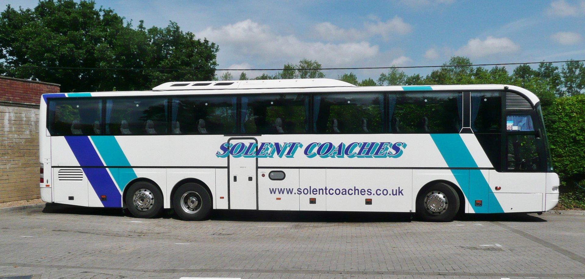 Mutli-axle Solent bus