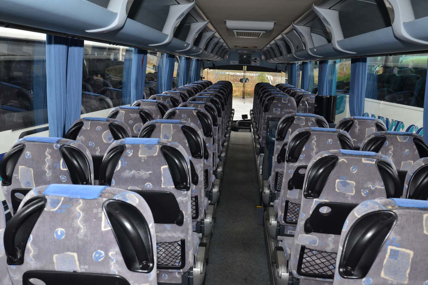 Seats in the buses