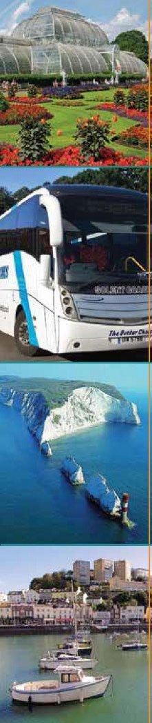 Solent bus on a tour