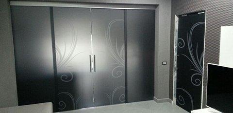 Porte in vetro e vetrate artistiche