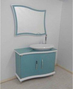 Mobile bagno in cristallo