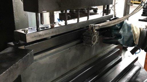 Macchinario per la lavorazione dei metalli
