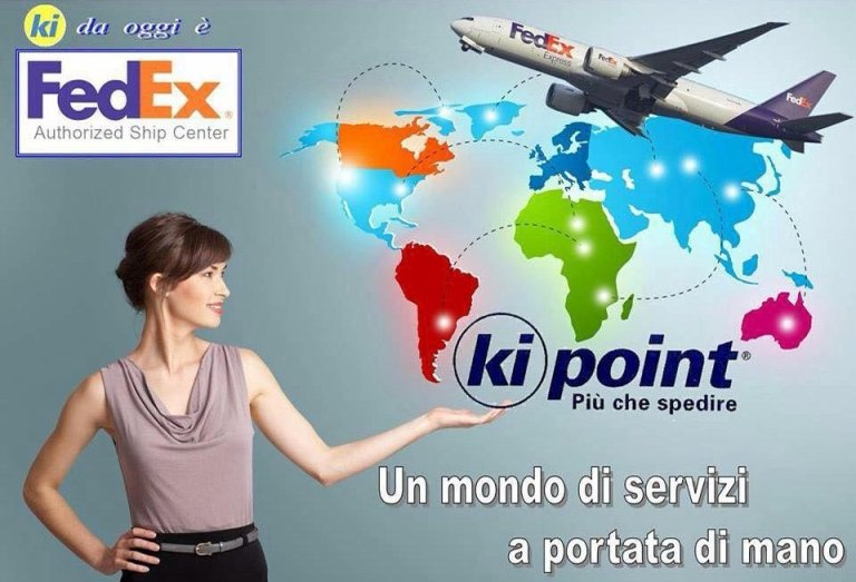 Kipoint diventa Fedex Authorised ShipCentre