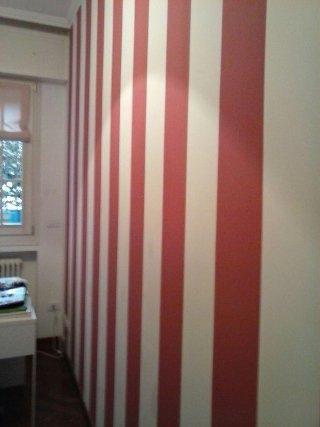 Pittura lavabile bicolore