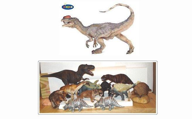 modellini animali preistorici