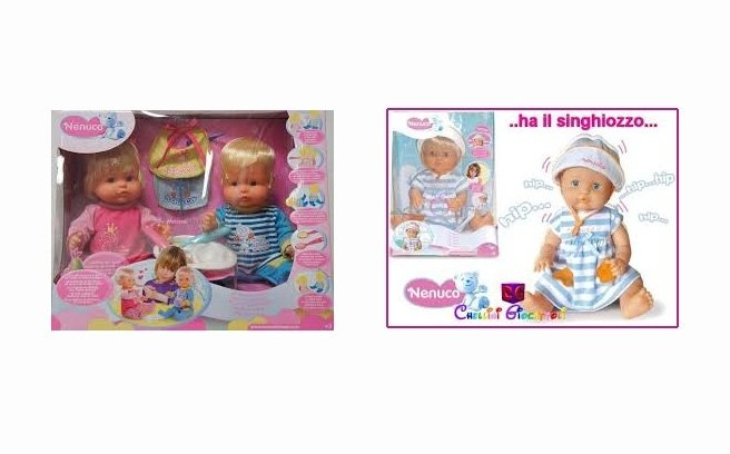 giocattoli e bambole